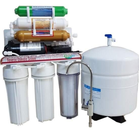 Pompalı 7 Aşamalı Mineralli Alkali Su Arıtma Cihazı