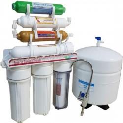 7 Aşamalı Mineral Alkali Pompasız Su Arıtma Cihazı
