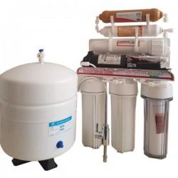 Pompalı 6 Aşamalı Mineral Filtreli Su Arıtma Cihazı