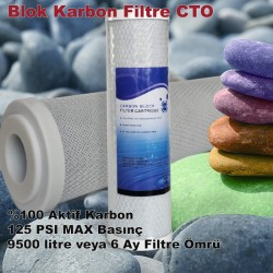 """10"""" Blok Karbon Filtre"""