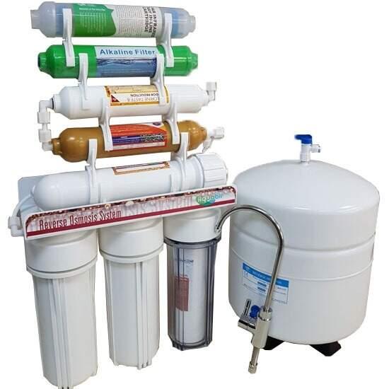 IONO 8 Aşamalı Mineral - Alkali - Detox Pompasız Su Arıtma Cihazı