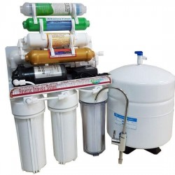IONO 8 Aşamalı Mineral - Alkali - Detox Pompalı Su Arıtma Cihazı