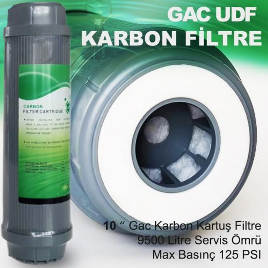 10 Granül Aktif Karbon Filtre